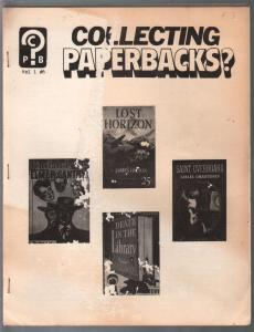 Collecting Paperbacks #6 1979-info-checklists-photos-VG