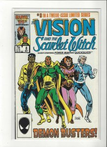Vision and the Scarlet Witch (1985 series) #8 of 12 Powerma  VF/NM Marvel comics