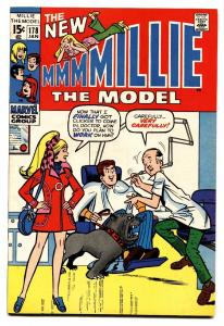 Millie The Model #178 comic book 1970-High Grade-dentist office cover- fashions