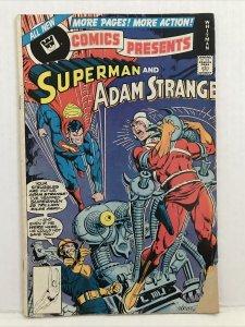 DC Comics Presents #3 Whitman Variant. Superman And Flash Race Part 2