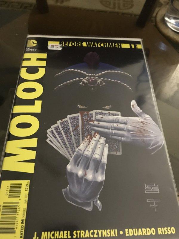 DC Before Watchmen #1 Moloch Mint Hot