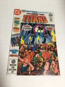 The New Teen Titans 21 Nm Near Mint First Brother Blood DC Comics