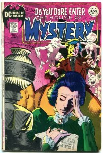 HOUSE OF MYSTERY #194 1971 DC WRIGHTSON COVER KIRBY TOTH FN-