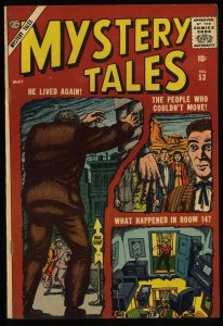 Mystery Tales #53 VF 8.0 White Pages Circle 8