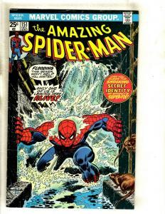 Lot Of 5 Amazing Spider-Man Marvel Comic Books # 151 152 153 154 155 Goblin GK5