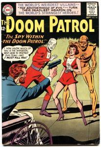 DOOM PATROL #90-1964-DC-SILVER-AGE