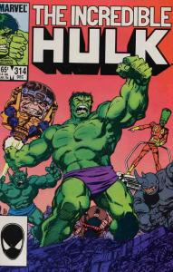 Incredible Hulk, The #314 VF; Marvel | save on shipping - details inside