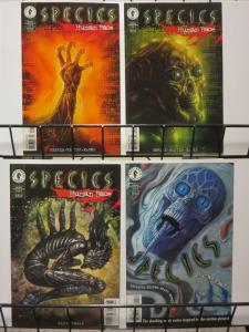 SPECIES HUMAN RACE(1996 DH) 1-4 sequel complete