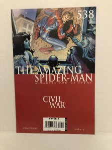 Amazing Spiderman #538 Civil War