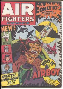 Air Fighter #2 1973-Air Boy-Skywolf-Black Angel-reprint-Hitler-Nazi-bondage-NM