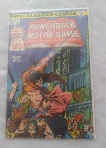 MARVEL CLASSICS COMICS #3 THE HUNCHBACK OF NOTRE DAME (1976) VICTOR HUGO VF