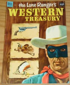 Lone Ranger's Western Treasury #1 FN/VF golden age dell comics - western 1953