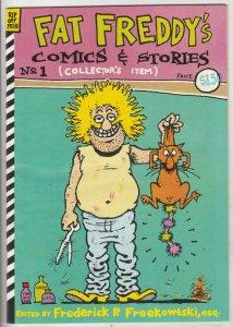 Fat Freddy's Comics & Stories #1 (Jan-83) NM- High-Grade The Freak Brothers (...