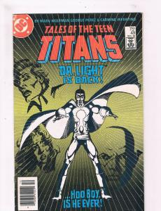Tales Of The Teen Titans # 49 FN DC Comic Book Flash Dr. Light Batman TC1