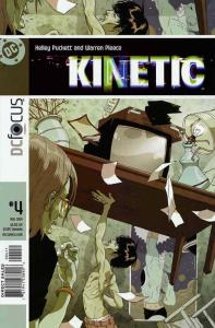 Kinetic #4 VF/NM; DC | save on shipping - details inside