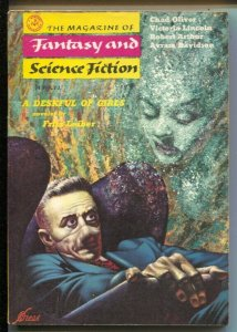 Magazine of Fantasy & Science Fiction 8/1957-Mercury-Kelly Freas cover-Brian ...