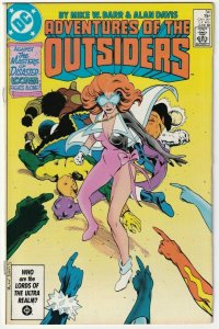 Adventures Of The Outsiders #34 Looker Masters Of Disaster June 1986 DC