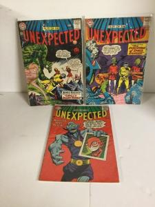Tales Of The Unexpected 75 81 84 Lot Vg Very Good 4.0 Or Better Silver Age