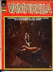 Vampirella #8 1970-Warren-bondage cover-Tom Sutton art-G+