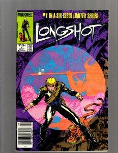 Longshot Complete Marvel Comics LTD Series # 1 2 3 4 5 6 X-Men Comic Books SB5