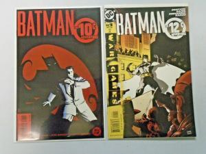 Batman 10 & 12 Cent Adventure all 2 different books 8.0 VF (2002 & 2004)