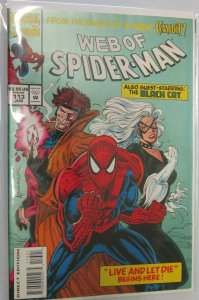 Web of Spider-Man polybagged #113 DIR 8.0 VF (1994)
