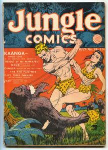 Jungle Comics #19 1941- Fantomah- Kaanga- reading copy