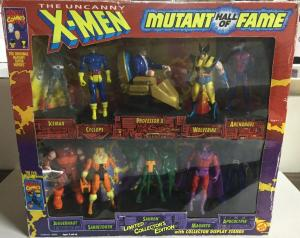 The Uncanny X-Men Mutant Hall Of Fame Limited Collector's Edition Sealed Toybiz