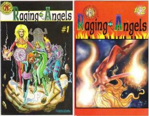 RAGING ANGELS (1997 CLASSIC HIPPIE COMICS) 1-2