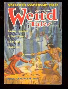 WEIRD TALES-SPG 1988-GENE WOLFE-ANNIVERSARY ISSUE-PULP FN