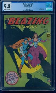 Blazing Comics 5(Action Comics 181 Interior Variant) CGC 9.8 Only Highest Graded