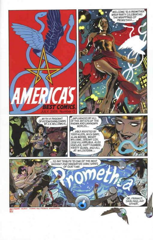 Promethea Covers Special #1 FN; America's Best | save on shipping - details insi