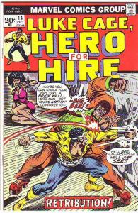Luke Cage Hero for Hire #14 (Oct-73) NM Super-High-Grade Luke Cage