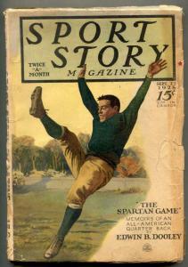 Sport Story Pulp September 22 1928- Edwin B Dooley