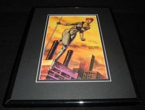 Black Widow Marvel Masterpiece ORIGINAL 1993 Framed 11x14 Poster Display