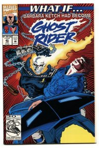 What If #45  BARBARA KETCH HAD BECOME GHOST RIDER? 1992
