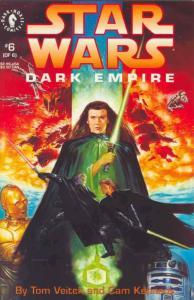 Star Wars: Dark Empire #6 VF/NM; Dark Horse   save on shipping - details inside