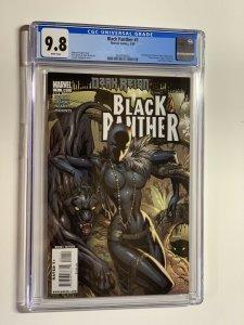 Black Panther 1 cgc 9.8 wp marvel 2009 1st shuri as black panther