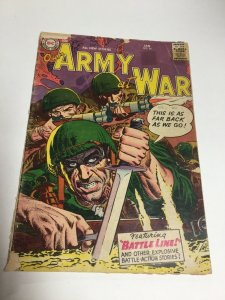 Our Army At War 54 Gd Good 2.0 DC Comics Silver Age