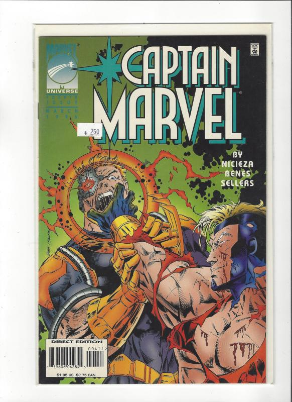Captain Marvel #4 (1995) Marvel Comics NM