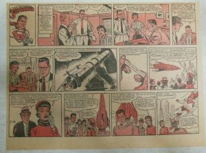 Superman Sunday Page #1166 by Wayne Boring from 2/18/1962 Size ~11 x 15 inches