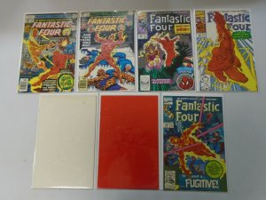 Fantastic Four lot of 7 Human Torch appearances avg 8.0 VF