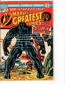Marvel's Greatest Comics (1969) 47  Fine- (5.5)
