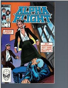 Alpha Flight #7 (1984)