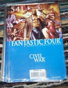 FANTASTIC FOUR #541   2006 MARVEL    civil war captain america   IRONMAN