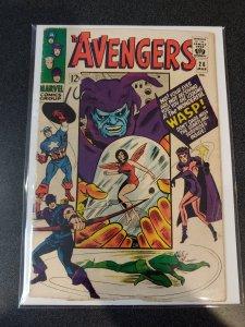 Avengers #26  Attuma app. Stan Lee VG+/F