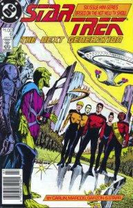 Star Trek: The Next Generation (Mini-Series) #6 (Newsstand) VG; DC | low grade c