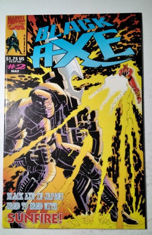 Black Axe #2 Marvel Comic Book J757