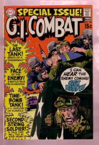 G.I. COMBAT #140 1970-LAST TANK-SPECIAL ISSUE-KUBERT AR FN