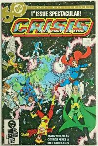 CRISIS ON INFINITE EARTHS#1 NM 1985 DC COMICS
